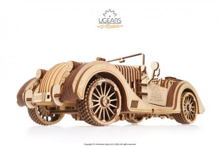 Puzzle 3D Mecanic, Roadster VM-01, 437 piese [1]