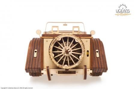 Puzzle 3D Mecanic, Roadster VM-01, 437 piese [6]