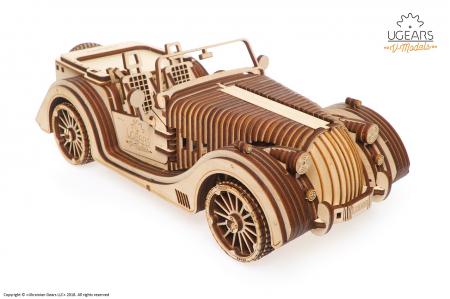 Puzzle 3D Mecanic, Roadster VM-01, 437 piese [0]