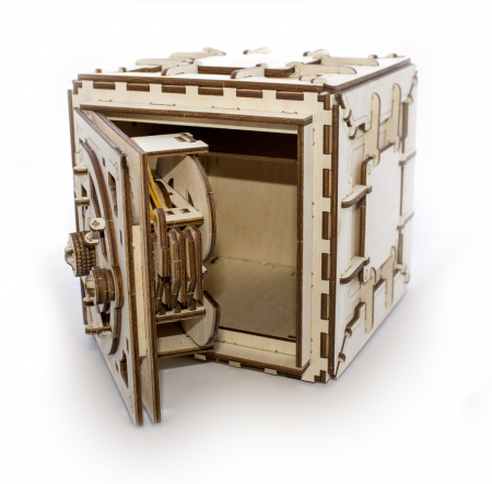 Puzzle 3D Mecanic, Seif, 179 piese [1]