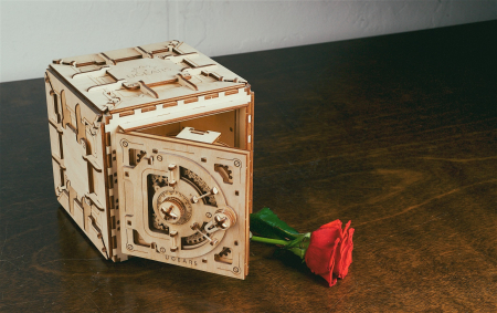 Puzzle 3D Mecanic, Seif, 179 piese [3]