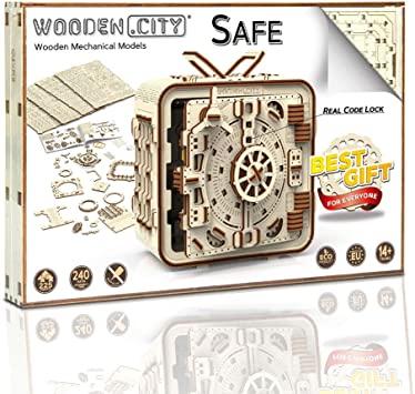 Puzzle 3D Mecanic, Seif [3]