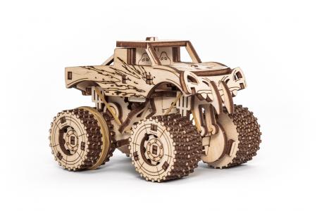 Puzzle 3D Mecanic, Set 5 Vehicule Mecanice [4]