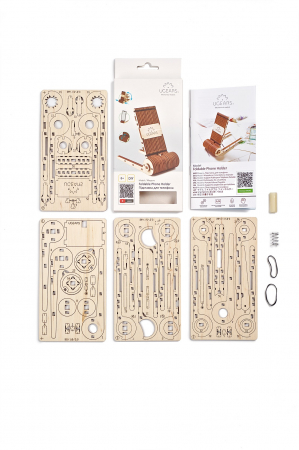 Puzzle 3D Mecanic, Suport pliabil pentru telefon, 73 piese [12]