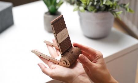 Puzzle 3D Mecanic, Suport pliabil pentru telefon, 73 piese [7]