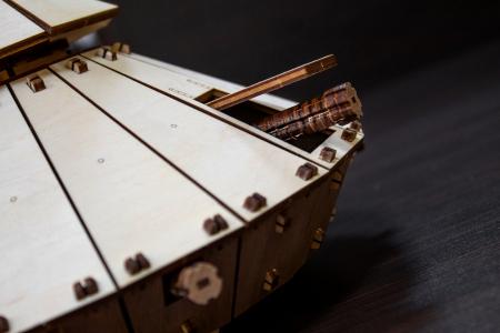 Puzzle 3D Mecanic, Tancul lui Da Vinci [3]