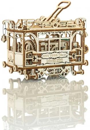 Puzzle 3D Mecanic, Tramvai cu sine [0]
