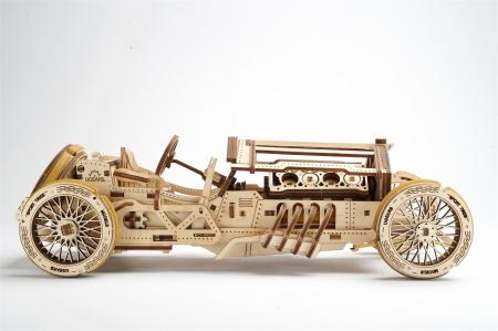 Puzzle 3D Mecanic, U-9 Grand prix car, 348 piese [1]