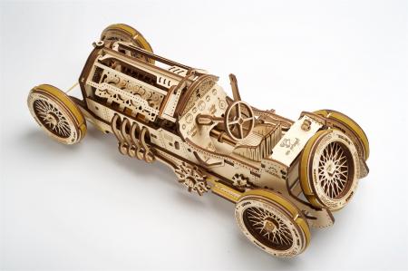 Puzzle 3D Mecanic, U-9 Grand prix car, 348 piese [3]