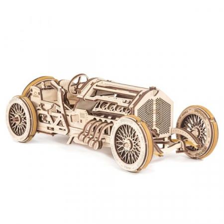 Puzzle 3D Mecanic, U-9 Grand prix car, 348 piese [0]