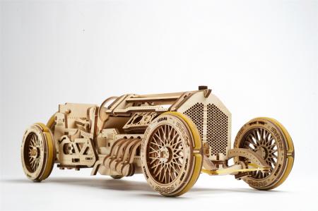 Puzzle 3D Mecanic, U-9 Grand prix car, 348 piese [2]