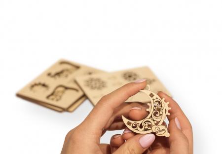 Puzzle 3D Mecanic, U-Fidget Gearsmas, 13-19 piese [5]
