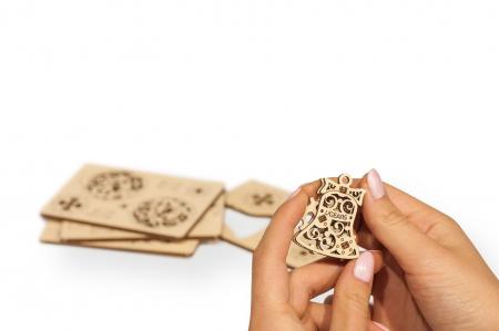 Puzzle 3D Mecanic, U-Fidget Happy New Gear, 8-13 piese [2]