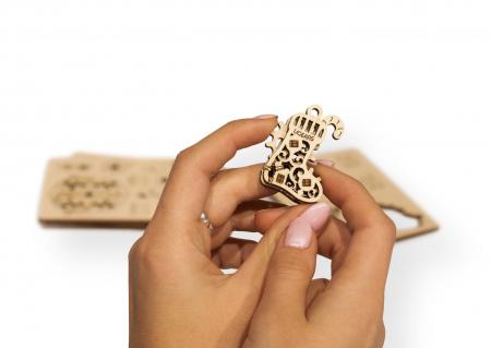 Puzzle 3D Mecanic, U-Fidget Happy New Gear, 8-13 piese [4]