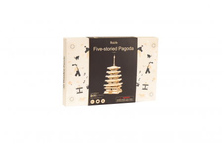 Puzzle 3D, Pagoda, 275 piese [4]