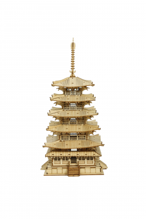 Puzzle 3D, Pagoda, 275 piese [0]