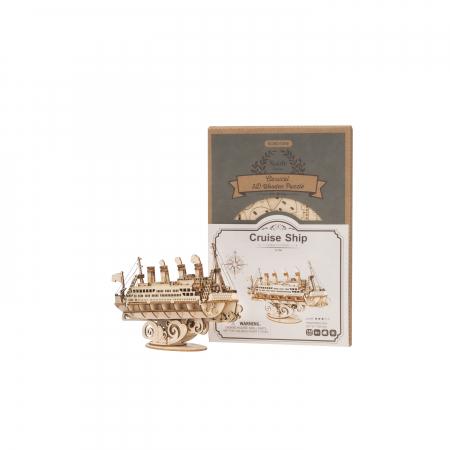 Puzzle 3D Cruise Ship, Lemn, 145 piese2