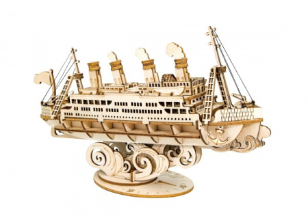 Puzzle 3D Cruise Ship, Lemn, 145 piese1