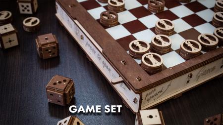 Puzzle 3D, Set de jocuri [6]