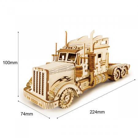 Puzzle 3D Tir, Lemn, 286 piese5