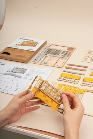 Puzzle 3D, Tramvai, 145 piese [8]