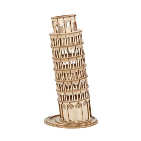 Puzzle 3D Turnul din Pisa, Lemn, 137 piese [0]