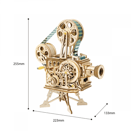 Puzzle 3D Vitascope, Lemn, 183 piese6