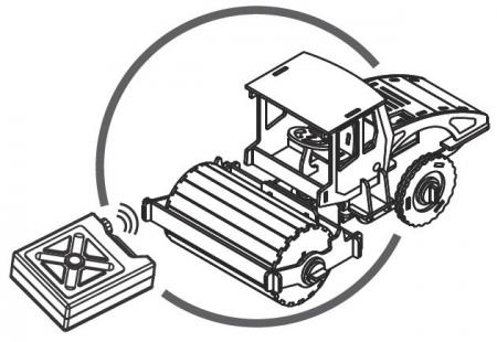 Puzzle mecanic 3D din lemn, cu telecomanda, Masina de asfaltat, 78 piese [2]