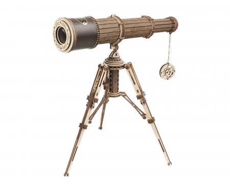 Puzzle mecanic 3D, Telescop monocular, 314 piese [0]