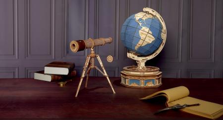 Puzzle mecanic 3D, Telescop monocular, 314 piese [6]