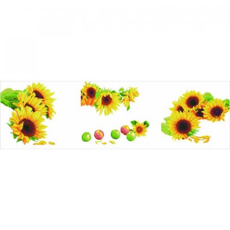 Set 3 goblenuri cu diamante, Floarea soarelui, 42x142 cm [11]