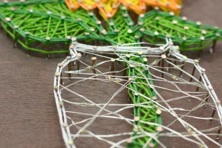 Set Art -string, Floarea soarelui, 7 culori, 19x29 cm4