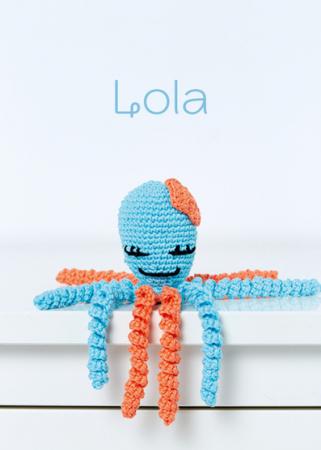 Caracatita Amigurumi, Lola [0]