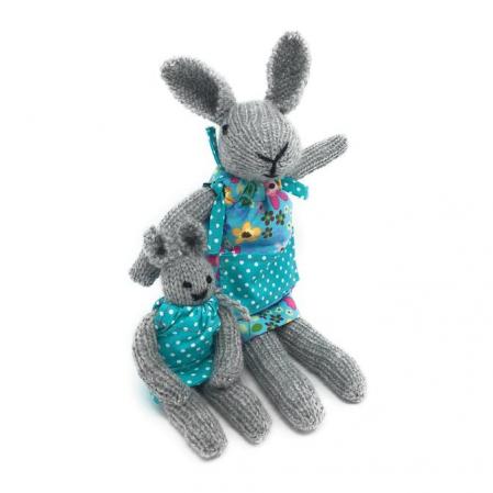 Set creatie jucarii tricotate, Iepurasi [0]