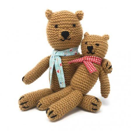 Set creatie jucarii tricotate, Ursuleti [0]