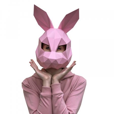 Set origami 3D, Masca Roz0