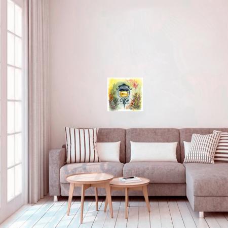 Pictura pe numere, cu sasiu, Atmosfera, 40x50 cm [1]