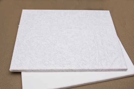 Set pictura pe numere, cu sasiu, Dupa ploaie, 50x40 cm1
