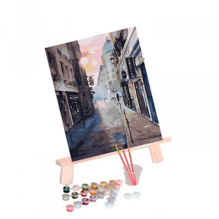Set pictura pe numere  Luminile Orasului [1]
