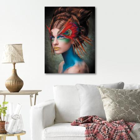 Set pictura pe numere, cu sasiu, Masquerade, 40x50 cm4