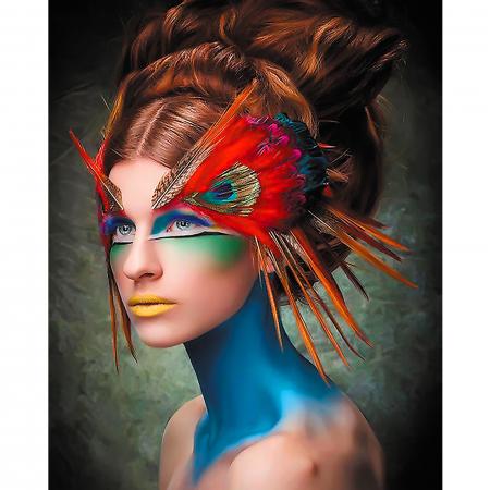 Set pictura pe numere, cu sasiu, Masquerade, 40x50 cm0