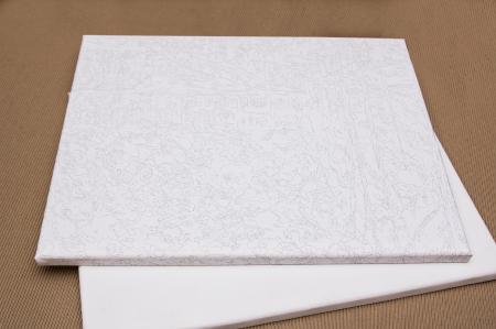 Pictura pe numere, cu sasiu, Meadow, 40x50 cm [5]