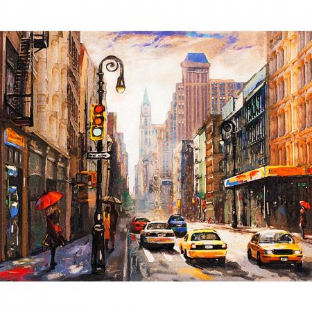 Set pictura pe numere, cu sasiu, New York City, 40 x50 cm [1]