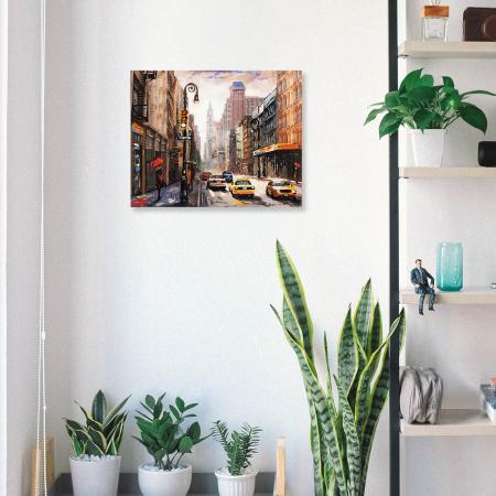 Set pictura pe numere, cu sasiu, New York City, 40 x50 cm [3]