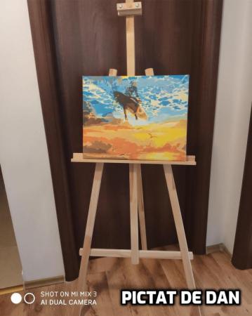 Set pictura pe numere, cu sasiu, Surf [1]