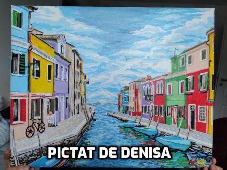 Set pictura pe numere, cu sasiu, Venetia, [1]