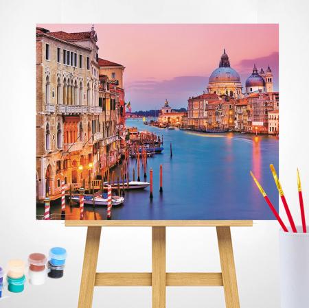 Set pictura pe numere, cu sasiu, Venetia [1]