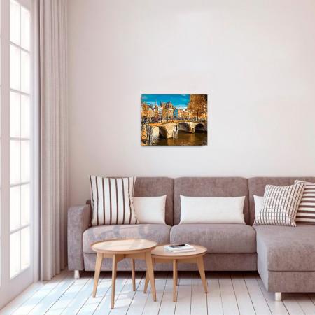Set pictura pe numere, cu sasiu, Amsterdam, 40x50 cm2