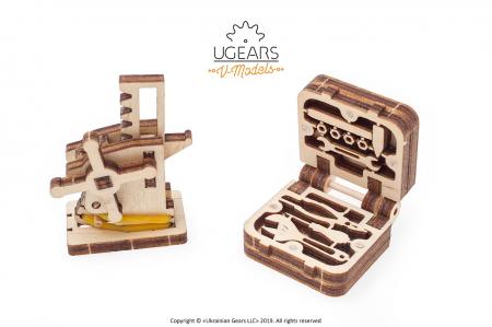Puzzle 3D Mecanic, Dream Cabriolet, 739 piese [3]