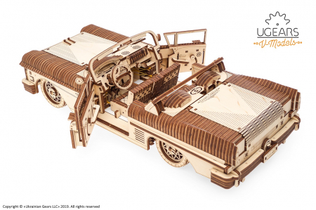 Puzzle 3D Mecanic, Dream Cabriolet, 739 piese [5]